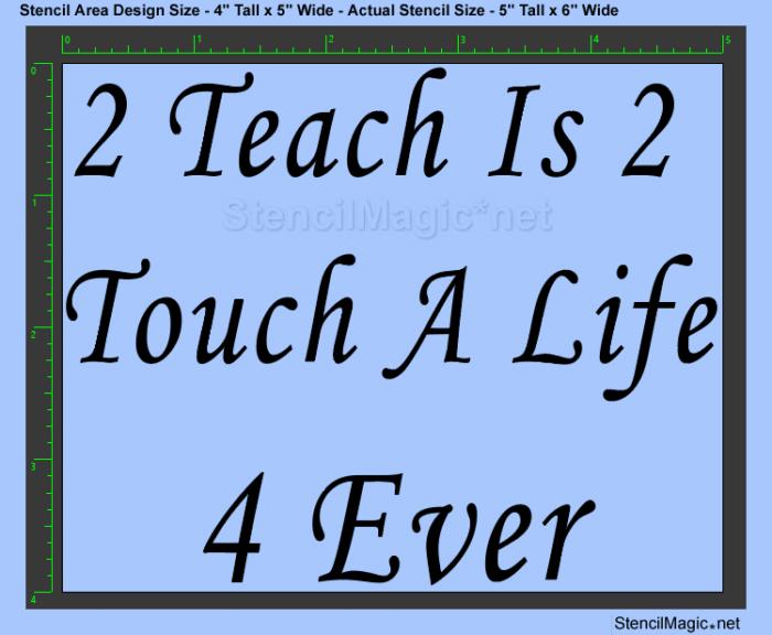 2 Teach Is 2 Touch
